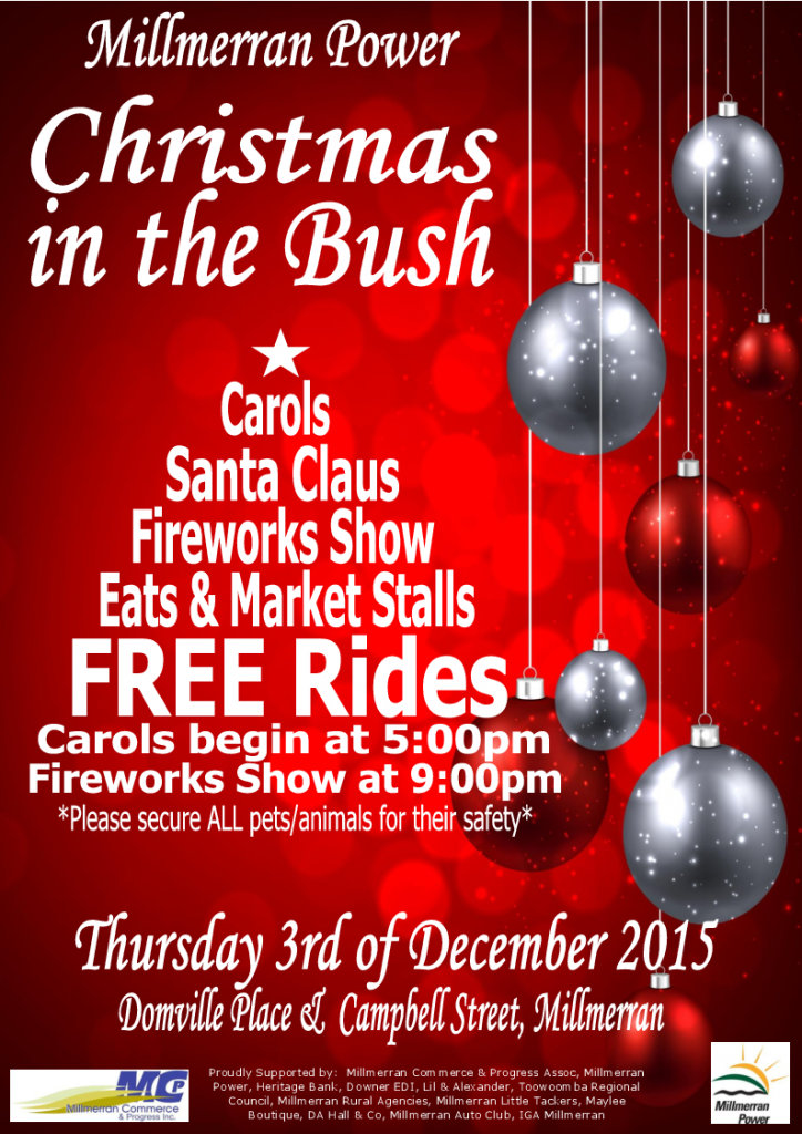 Christmas in the Bush 2015 Poster_Final 2